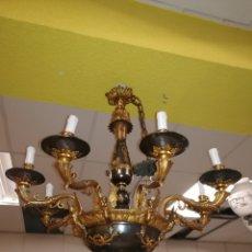 Antigüedades: LAMPARA ARAÑA. Lote 190539962