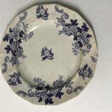 Antiquités: PLATO R. RODRÍGUEZ Y CIª. CHINA OPACA SAN JUAN. SEVILLA. Lote 190545831