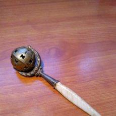 Antigüedades: SONAJERO PLATA. Lote 190583093