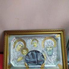 Antiquités: ESPECTACULAR RELICARIO CON MARCO DE MADERA. Lote 190584652