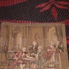 Antigüedades: PIQUEÑO TAPIZ. Lote 190616028