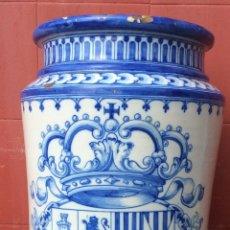 Antigüedades: TALAVERA ,RUIZ DE LUNA ,ANTIGUO PARAGÜERO O BASTONERO . Lote 190626633