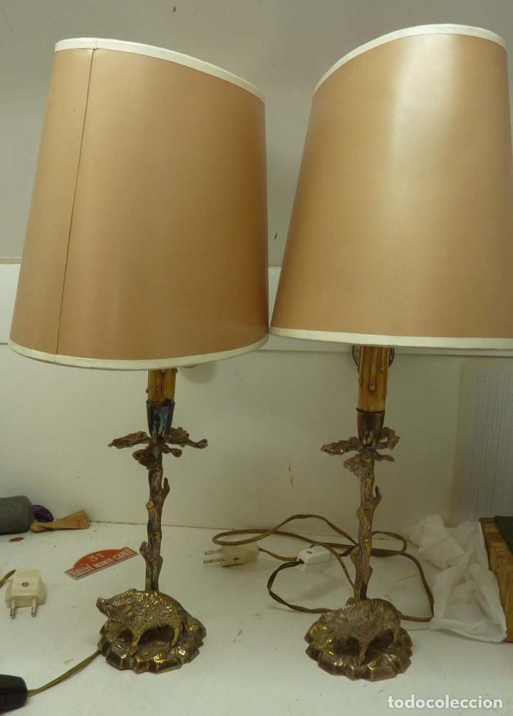 PAREJA DE LAMPARAS VALENTI (Antigüedades - Iluminación - Lámparas Antiguas)