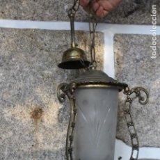 Antigüedades: LÁMPARA DE COLGAR. Lote 190642820
