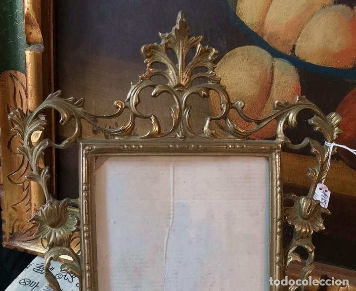 Antigüedades: Marco bronce - Foto 2 - 190652802