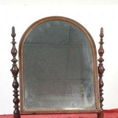 Antigüedades: ESPEJO DE TOCADOR. ESTILO CHIPENDALE. MADERA Y CRISTAL. SIGLO XIX. . Lote 190686750