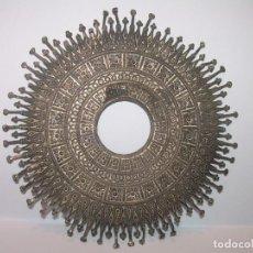 Antigüedades: ANTIGUA Y PRECIOSA CORONA CALADA DE.. PLATA.. PARA IMAGEN DE SANTO.. Lote 190700976