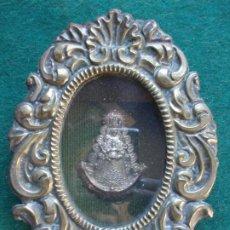 Antigüedades: RELICARIO DE LA VIRGEN DEL ROCIO. Lote 190704726