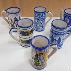 Antigüedades: 6 JARRAS FIRMADAS FIGAS DE RIBESALBES. Lote 190714572