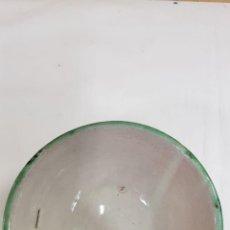 Antigüedades: CUENCO CERAMICA DE TERUEL PRICIPIO SIGLO XX. Lote 190715660