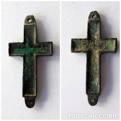 ANTIGUA CRUZ,CRUCIFIJO.SIGLO XIX (Antigüedades - Religiosas - Cruces Antiguas)