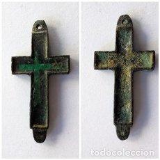 Antigüedades: ANTIGUA CRUZ,CRUCIFIJO.SIGLO XIX. Lote 190734812