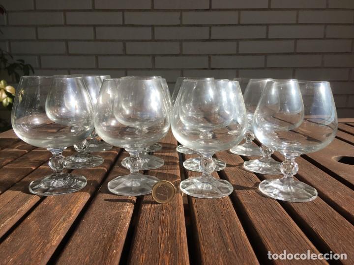 Antigüedades: 12 copas de licor - Foto 3 - 190741818