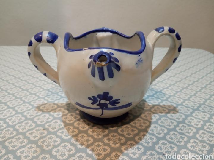 ANTIGUA SALSERA S. XIX PUENTE DEL ARZOBISPO. (Antigüedades - Porcelanas y Cerámicas - Puente del Arzobispo )