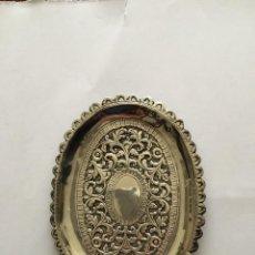 Antigüedades: BANDEJA DE PLATA. Lote 190774200