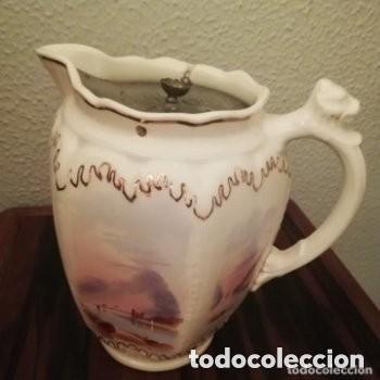 Antigüedades: Tetera o Cafetera cerámica Inglesa Martín Hanley año 1920-1930 Victoriana - Foto 2 - 190808916