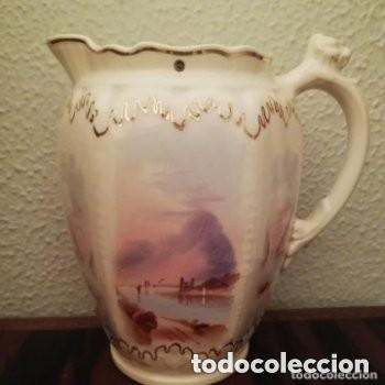 Antigüedades: Tetera o Cafetera cerámica Inglesa Martín Hanley año 1920-1930 Victoriana - Foto 3 - 190808916