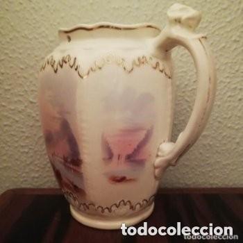 Antigüedades: Tetera o Cafetera cerámica Inglesa Martín Hanley año 1920-1930 Victoriana - Foto 4 - 190808916