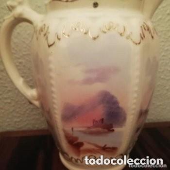 Antigüedades: Tetera o Cafetera cerámica Inglesa Martín Hanley año 1920-1930 Victoriana - Foto 5 - 190808916