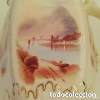 Antigüedades: Tetera o Cafetera cerámica Inglesa Martín Hanley año 1920-1930 Victoriana - Foto 8 - 190808916