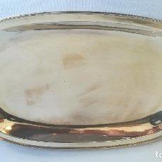 Antigüedades: BANDEJA DE ALPACA. Lote 190820216