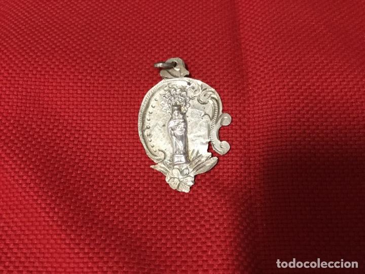 MEDALLA VIRGEN DEL PILAR (Antigüedades - Religiosas - Medallas Antiguas)