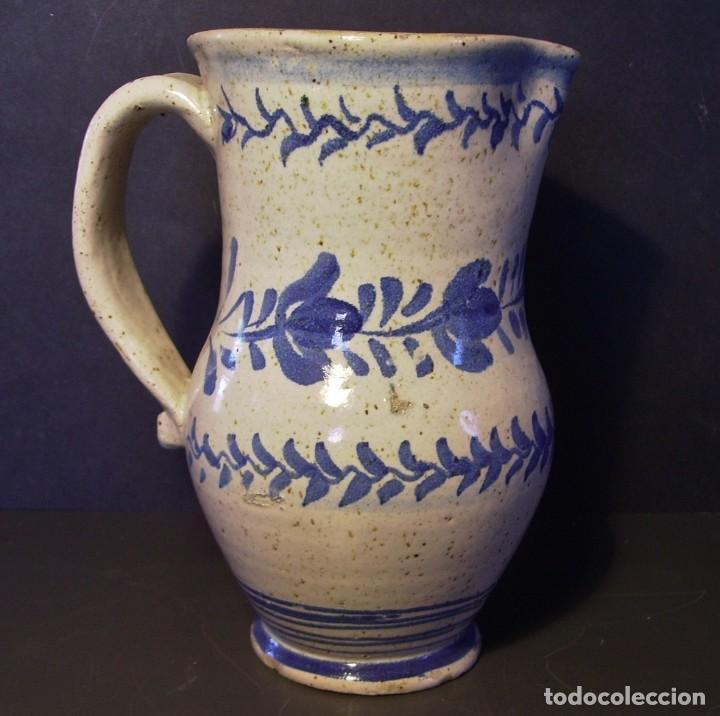 EXCEPCIONAL JARRA CERÁMICA ARAGONESA DE MUEL XIX (Antigüedades - Porcelanas y Cerámicas - Teruel)