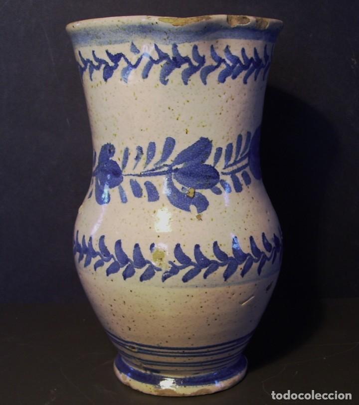 Antigüedades: EXCEPCIONAL JARRA CERÁMICA ARAGONESA DE MUEL XIX - Foto 3 - 190833732