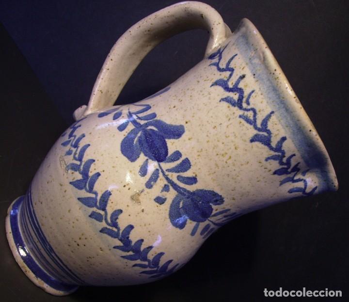 Antigüedades: EXCEPCIONAL JARRA CERÁMICA ARAGONESA DE MUEL XIX - Foto 7 - 190833732
