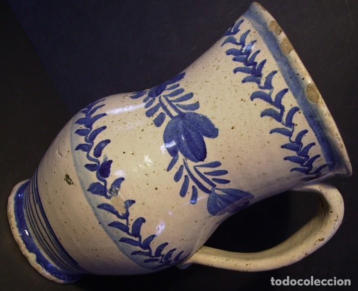 Antigüedades: EXCEPCIONAL JARRA CERÁMICA ARAGONESA DE MUEL XIX - Foto 8 - 190833732