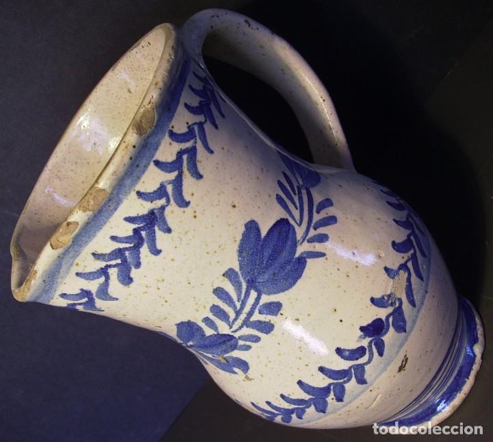 Antigüedades: EXCEPCIONAL JARRA CERÁMICA ARAGONESA DE MUEL XIX - Foto 9 - 190833732
