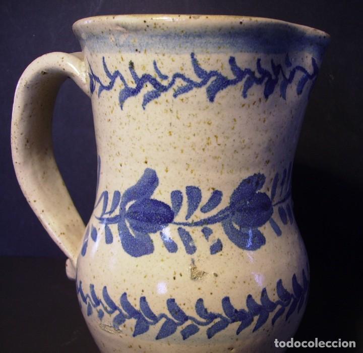 Antigüedades: EXCEPCIONAL JARRA CERÁMICA ARAGONESA DE MUEL XIX - Foto 11 - 190833732