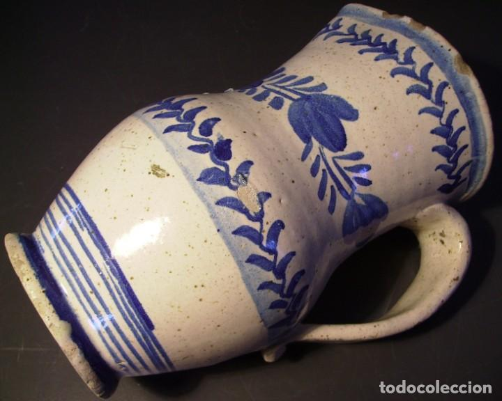 Antigüedades: EXCEPCIONAL JARRA CERÁMICA ARAGONESA DE MUEL XIX - Foto 16 - 190833732