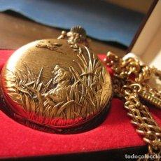 Antigüedades: RELOJ DE BOLSILLO CAZADOR. Lote 190847350