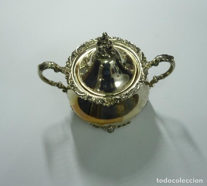 Antigüedades: Juego de café en plata de primera ley - Foto 9 - 190847737