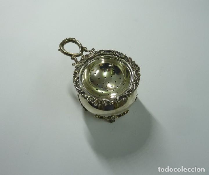 Antigüedades: Juego de café en plata de primera ley - Foto 11 - 190847737