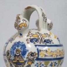 Antigüedades: ANTIGUO BOTIJO DE RUIZ DE LUNA. TALAVERA. AÑOS 30. Lote 190872946