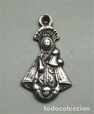 ANTIGUA MEDALLA RELIGIOSA DE NUESTRA SEÑORA DE LA SOTERRAÑA DE NIEVA (SIGLO XVIII) (Antigüedades - Religiosas - Medallas Antiguas)