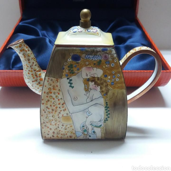 PORCELANA INGLESA CHARLOTTE DI VITA ED NUMERADA (Antigüedades - Porcelanas y Cerámicas - Inglesa, Bristol y Otros)