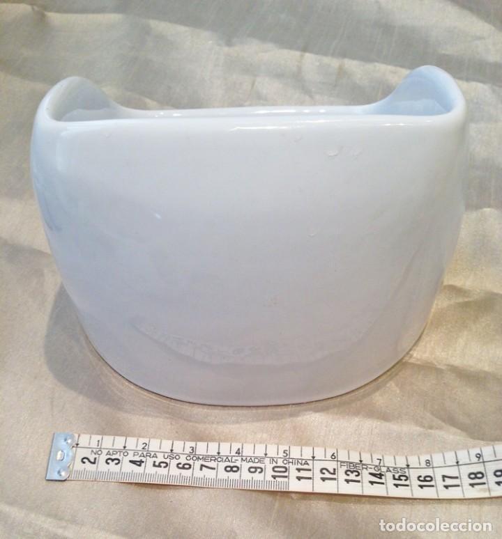 Antigüedades: Pieza porcelana baño mediados S. XIX - Foto 2 - 190895942