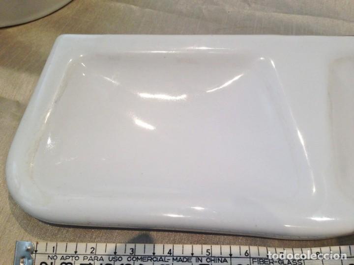 Antigüedades: Piezas porcelana baño mediados S. XIX - Foto 3 - 190896028