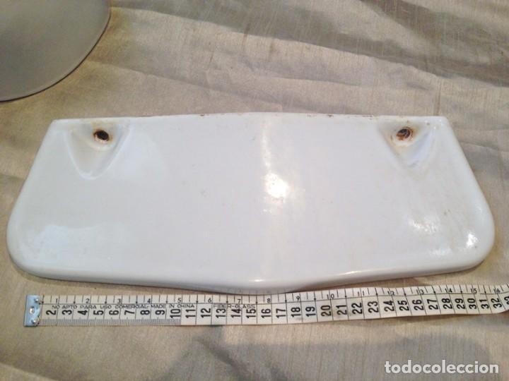 Antigüedades: Piezas porcelana baño mediados S. XIX - Foto 4 - 190896028