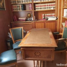 Antigüedades: MESA DESPACHO MADERA ANTIGUA. Lote 190930250