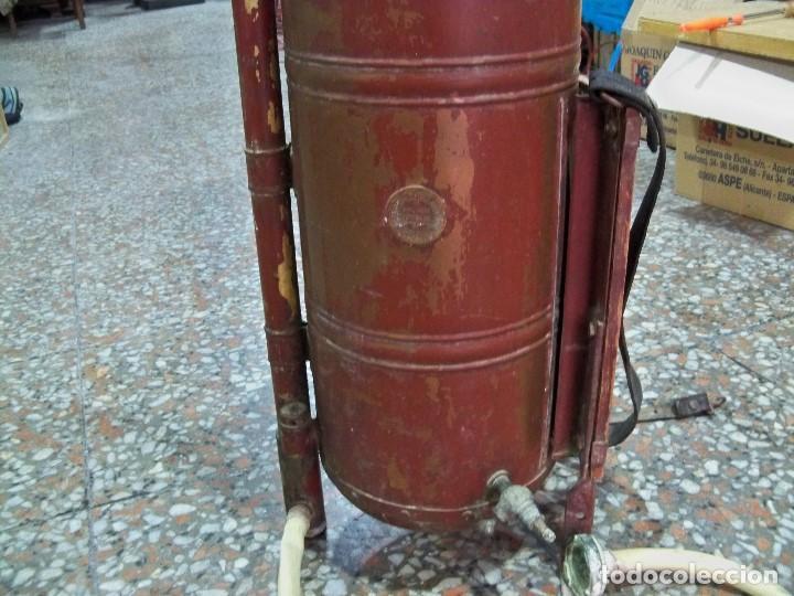 Antigüedades: ANTIGUA FUMIGADORA SEUL AGENT P. CASELLES BARCELONA PET. 33283 - Foto 2 - 190978145
