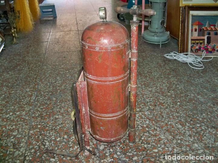 Antigüedades: ANTIGUA FUMIGADORA SEUL AGENT P. CASELLES BARCELONA PET. 33283 - Foto 4 - 190978145