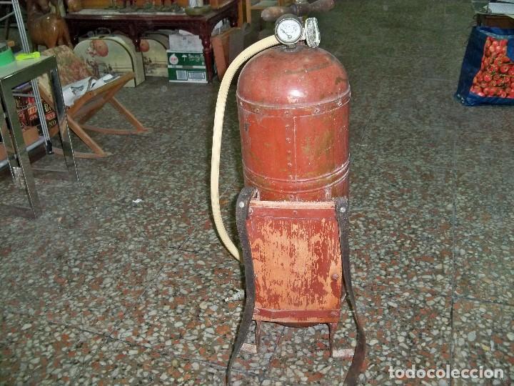 Antigüedades: ANTIGUA FUMIGADORA SEUL AGENT P. CASELLES BARCELONA PET. 33283 - Foto 6 - 190978145