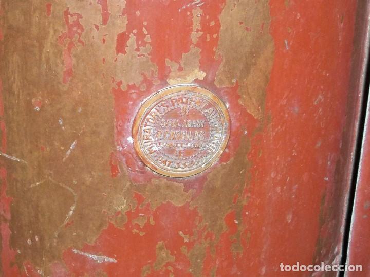 Antigüedades: ANTIGUA FUMIGADORA SEUL AGENT P. CASELLES BARCELONA PET. 33283 - Foto 9 - 190978145