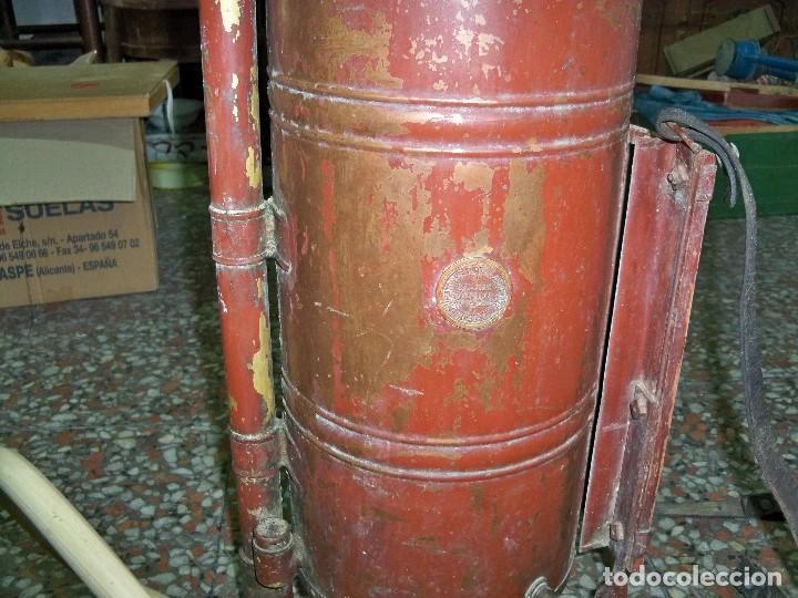 Antigüedades: ANTIGUA FUMIGADORA SEUL AGENT P. CASELLES BARCELONA PET. 33283 - Foto 10 - 190978145