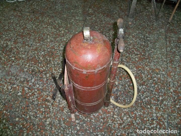 Antigüedades: ANTIGUA FUMIGADORA SEUL AGENT P. CASELLES BARCELONA PET. 33283 - Foto 12 - 190978145