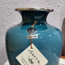 Antigüedades: MUY DIFÍCIL ( JARRÓN DE COLECCIÓN EN PLATA DE LEY - SERRA - ). MÁS PORCELANAS EN MI PERFIL.. Lote 190987062